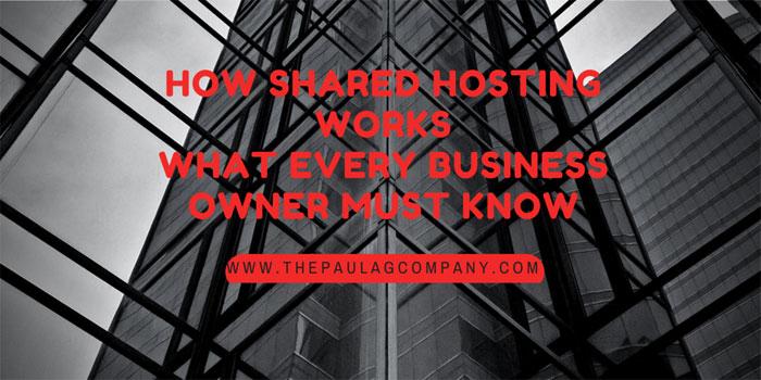 How Shared Website Hosting Works