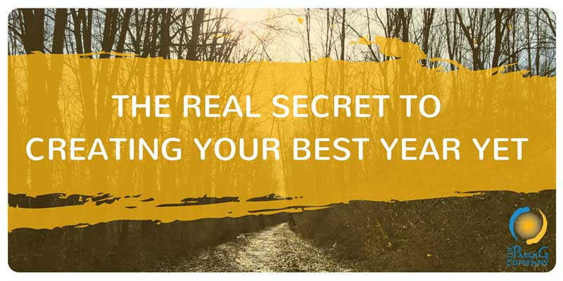 The Real Secret to Making 2016 Best Year Yet