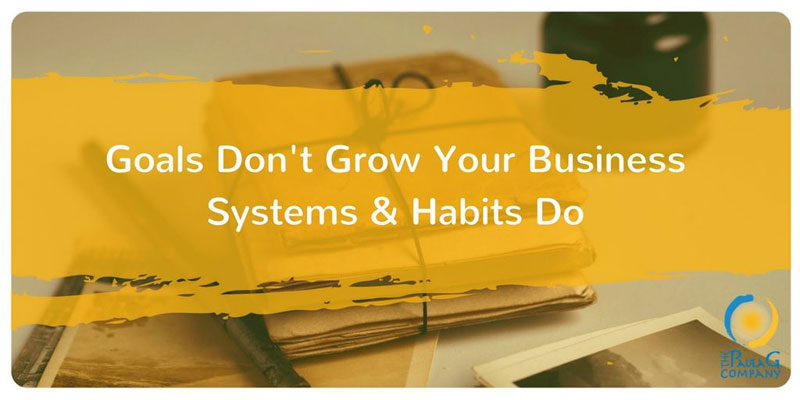 Habits and Systems Grow Your Business